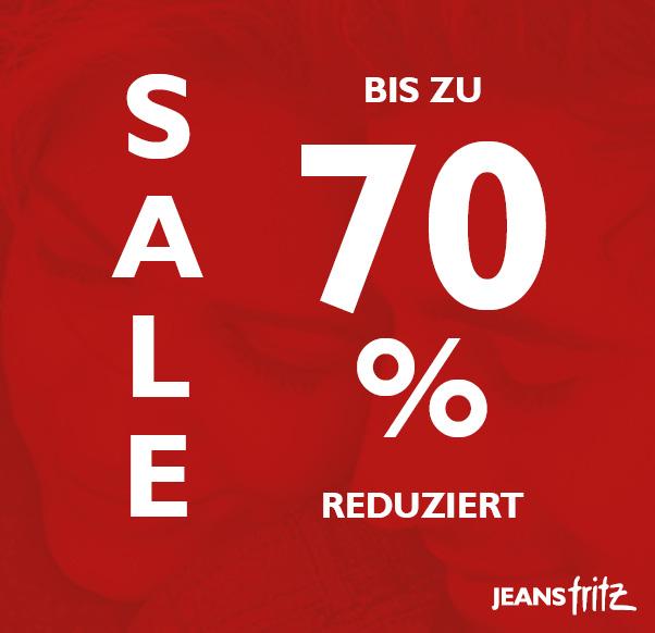 SALE bei Jeans Fritz