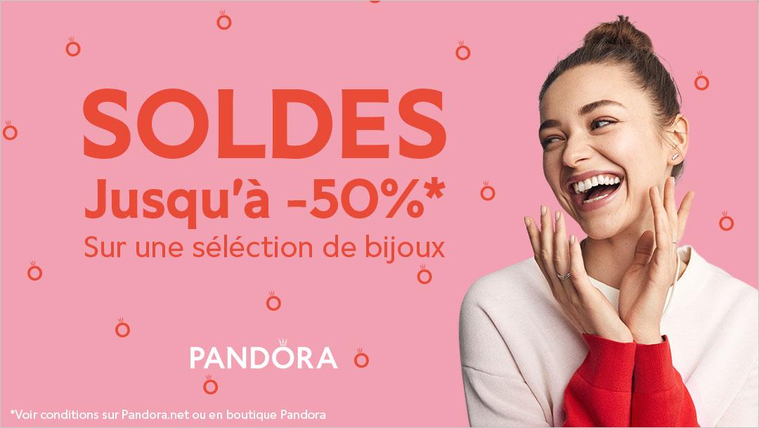 Soldes chez Pandora