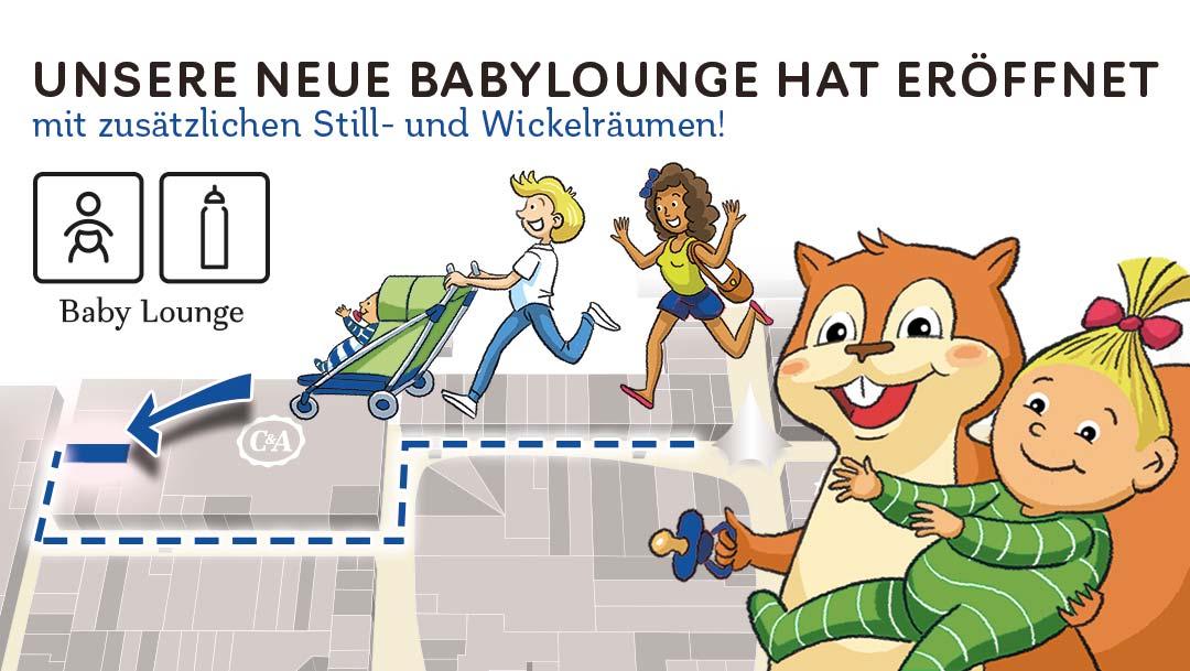 Die neue Baby-Lounge ist da