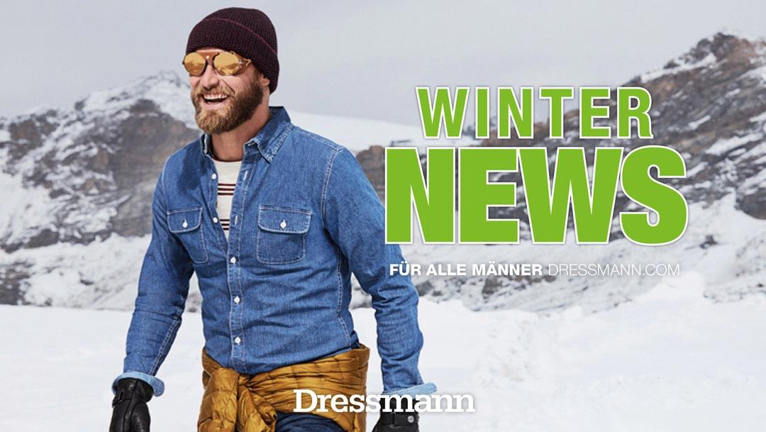 Winter News von Dressmann