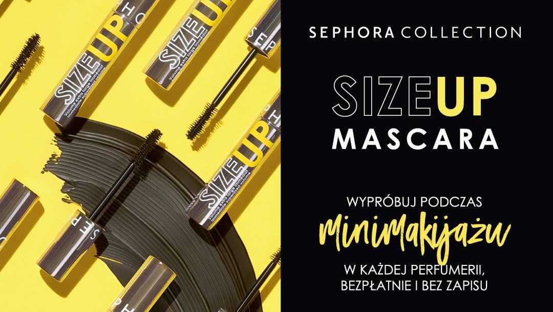 Odkryj nową maskarę SIZE UP!