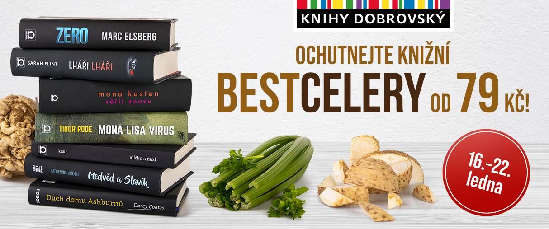 Ochutnejte knižní bestcelery v knihkupectví Knihy Dobrovský.