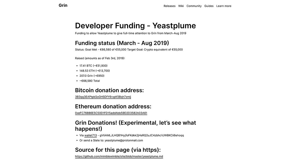 CryptoUnlocked: Grin Hashrate