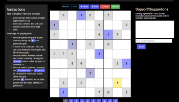 Desktop view of puzzle