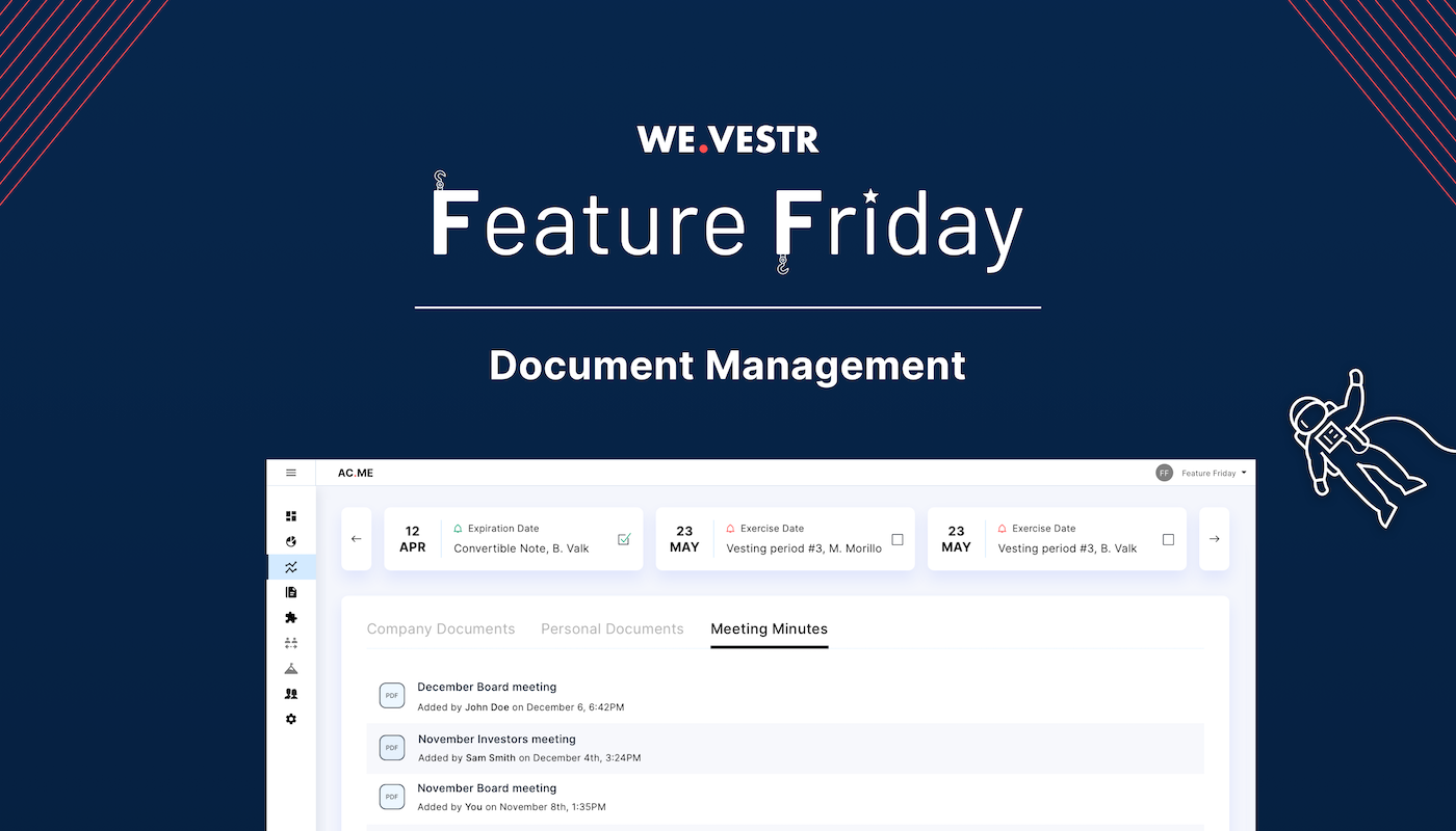 Feature Friday #4: Document Management