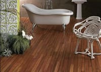 Doussie bathroom Flooring