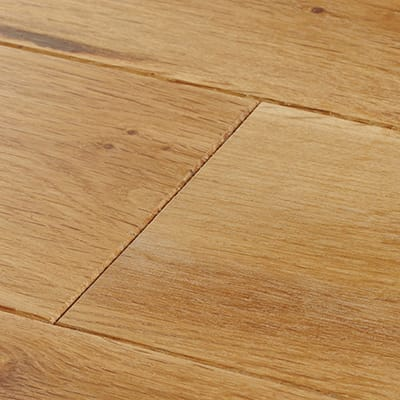 Close up of Natural Oiled Wood FLooring
