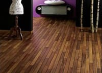 iroko bathroom Flooring