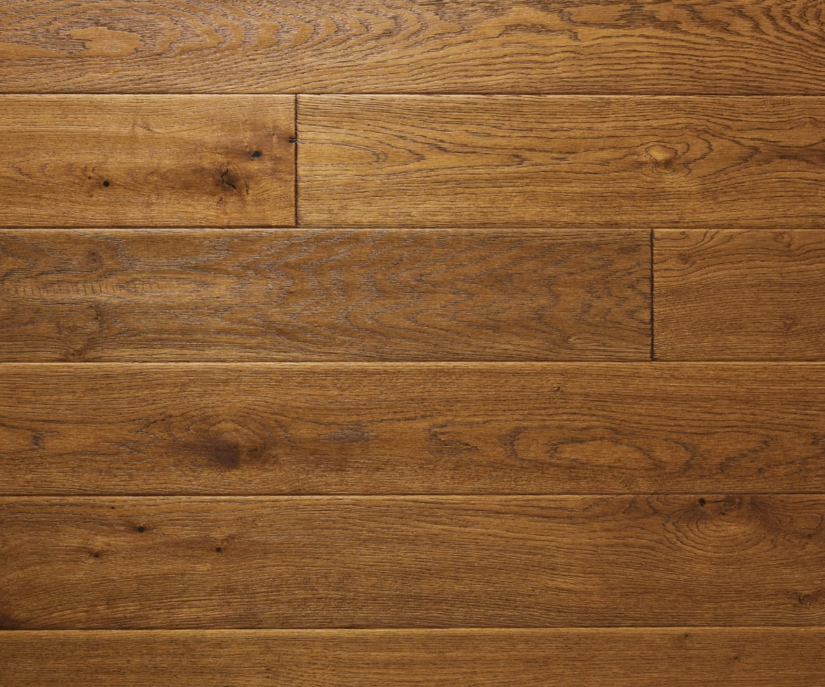 Antique Tuscan Stained Oiled Oak Hand Scraped Hardwood Engineered Wood Flooring