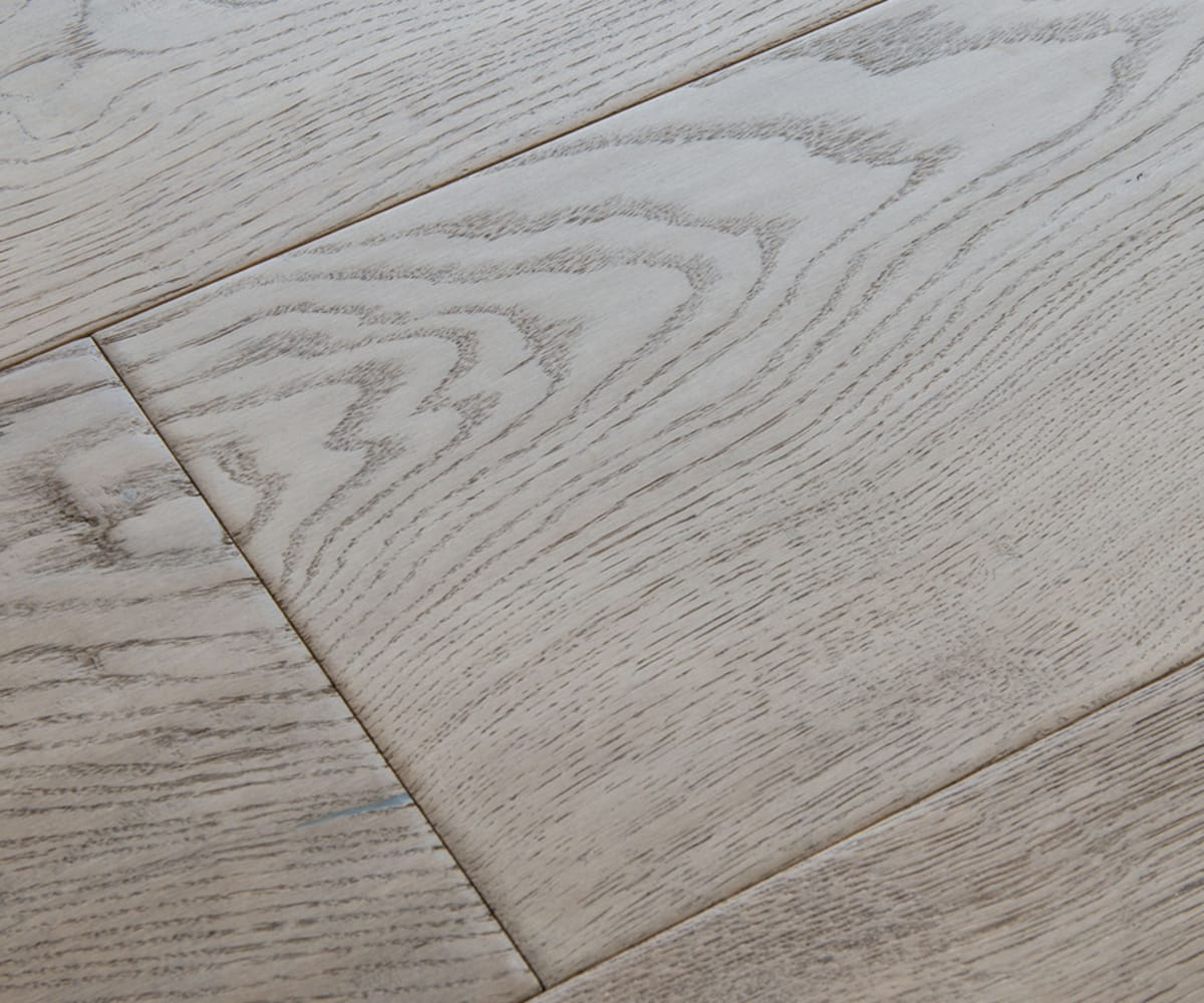 Rustic Meadow Oak Hard-Waxed Oiled Hand-Scraped & Distressed 240mm Engineered Wood Flooring