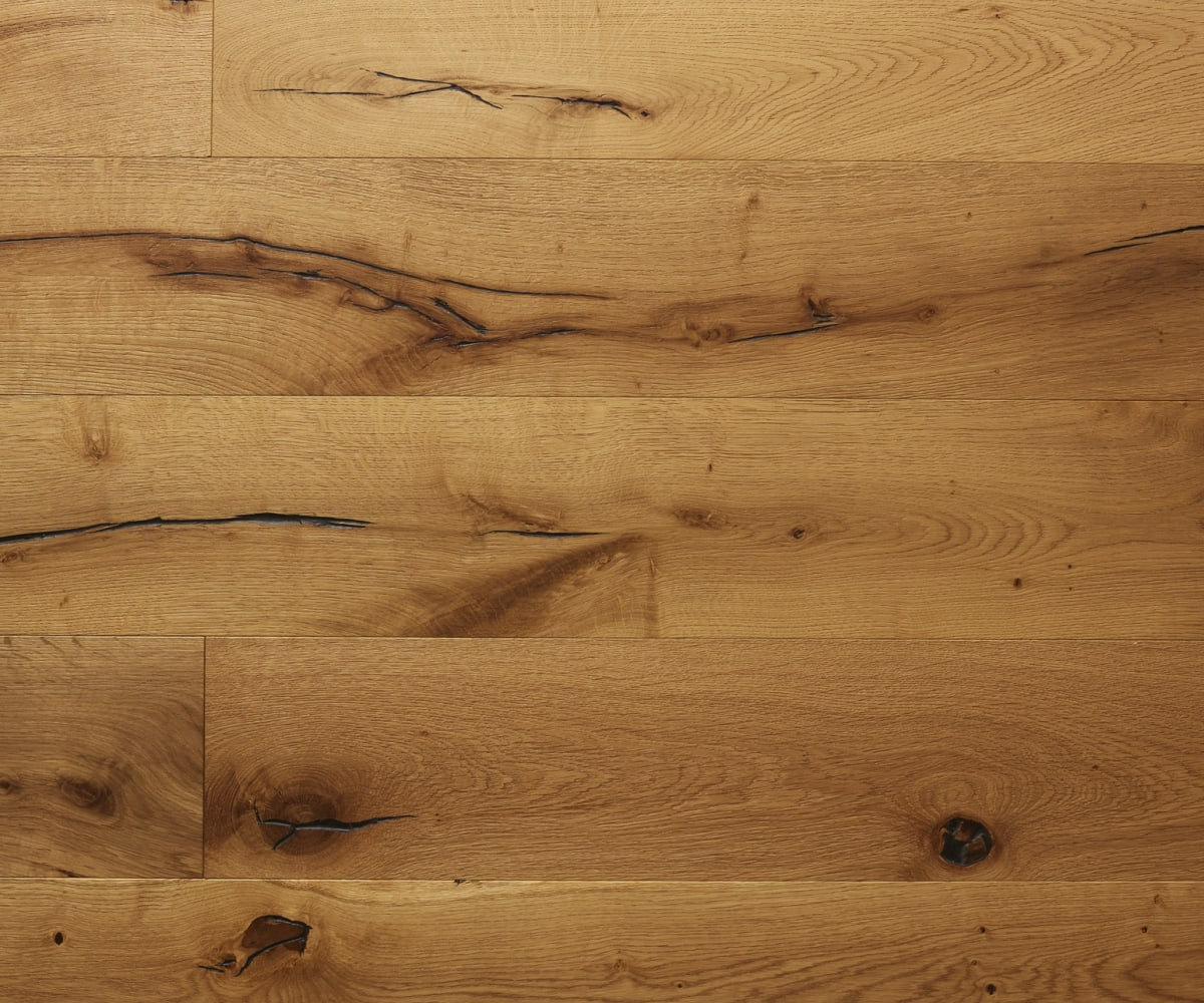 Rennes Oak Brushed Oiled Hardwood Flooring