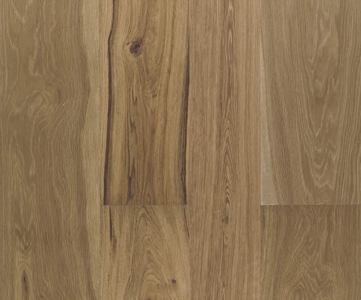 Natural Forest Oak Brushed Oiled 190mm Engineered Hardwood Flooring