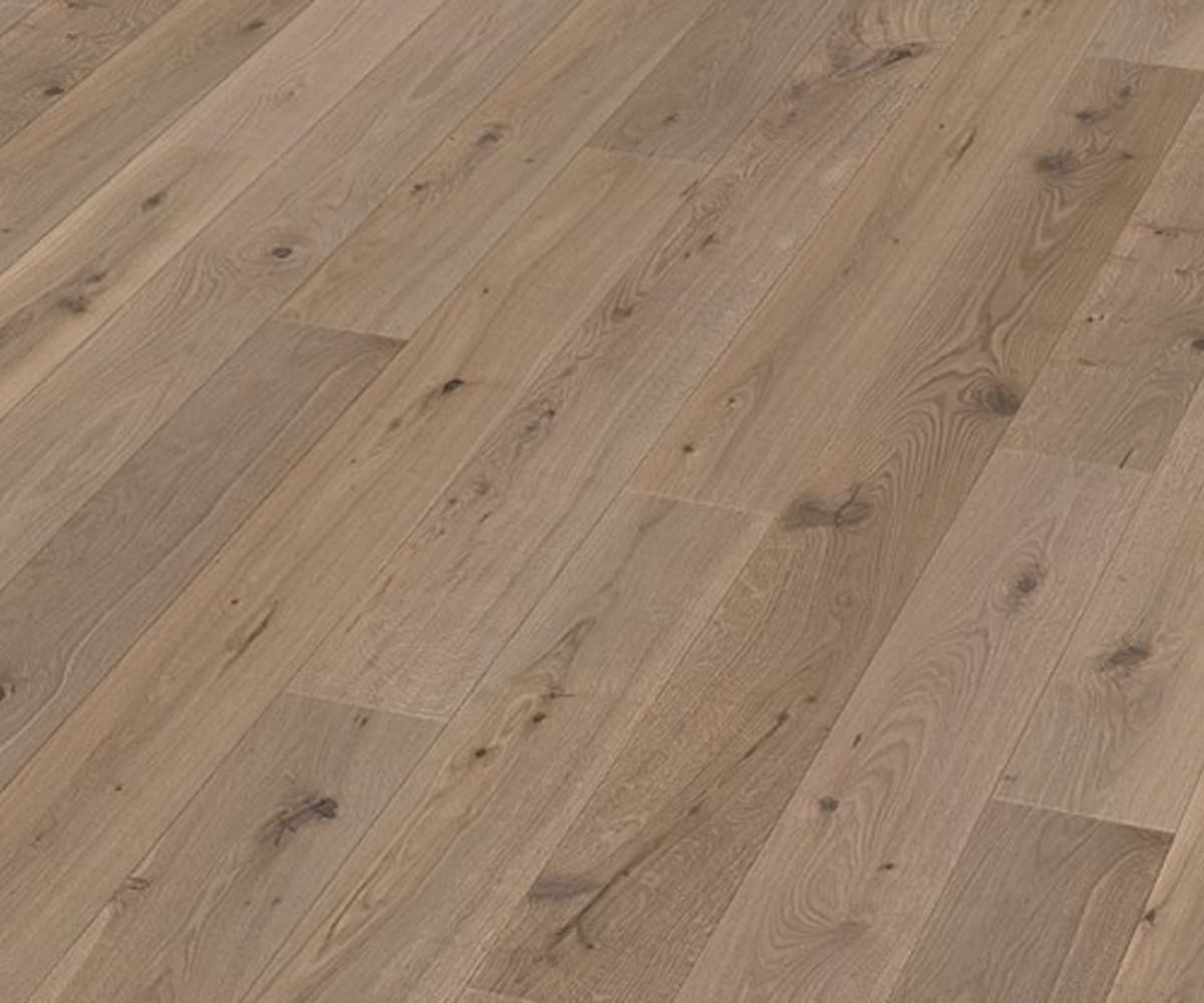 Chawton Oak Extra Rustic Brushed & Natural Oiled Engineered Hardwood Flooring