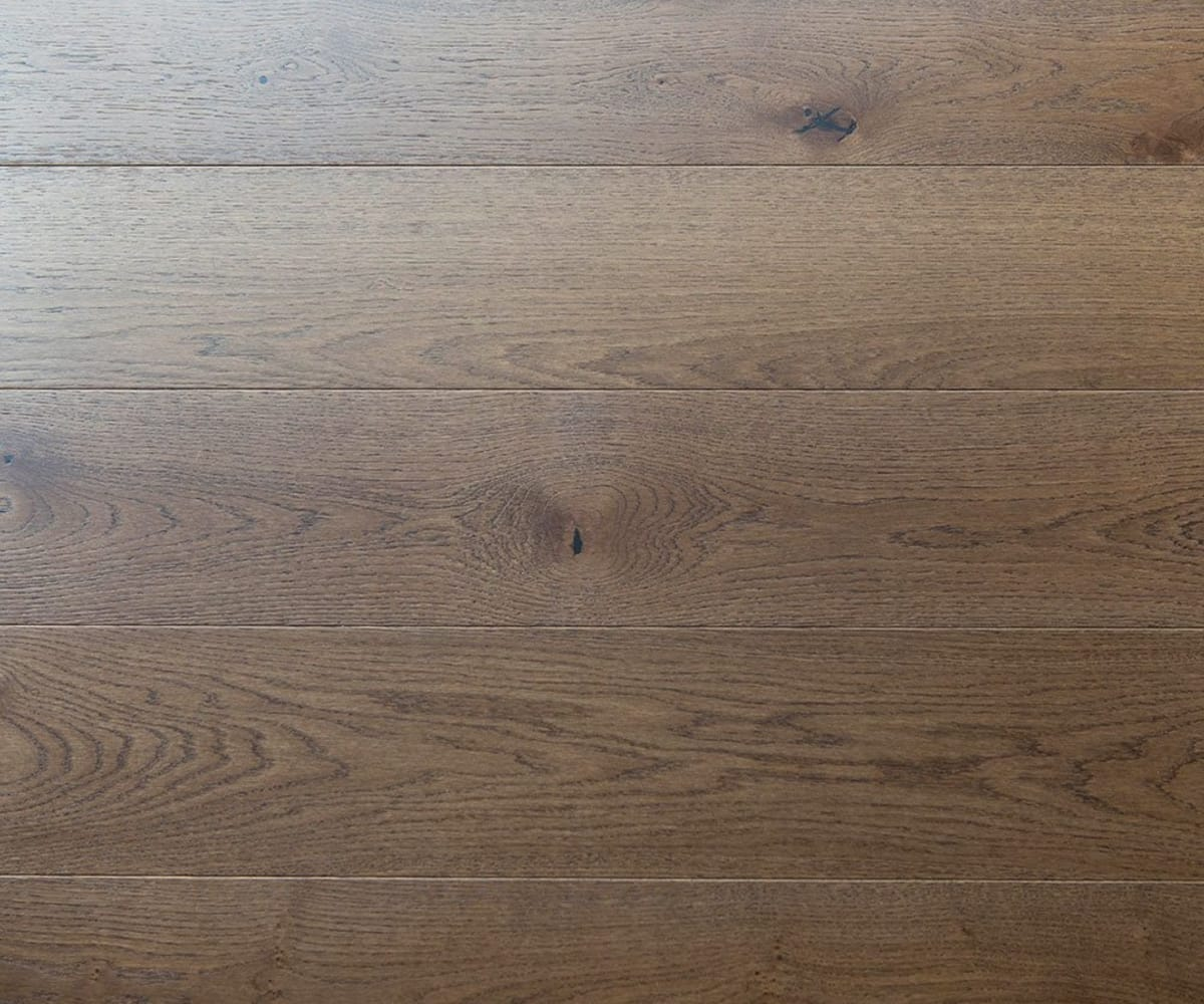 Burford Stained Oak Brushed Lacquered Hardwood Flooring
