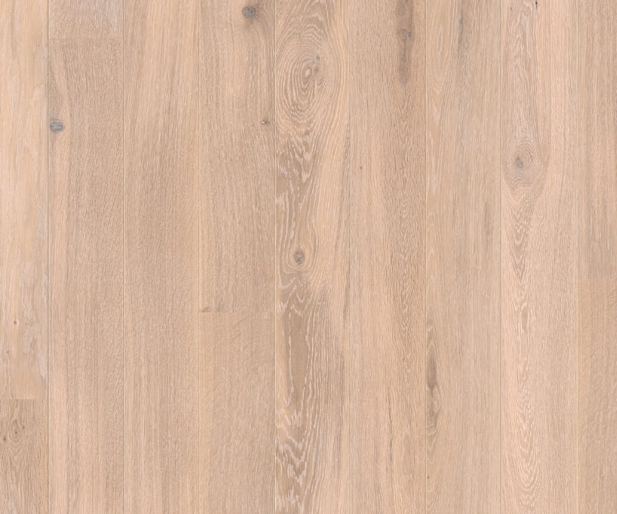 White Brushed Natural Oil Oak Engineered Wood Flooring