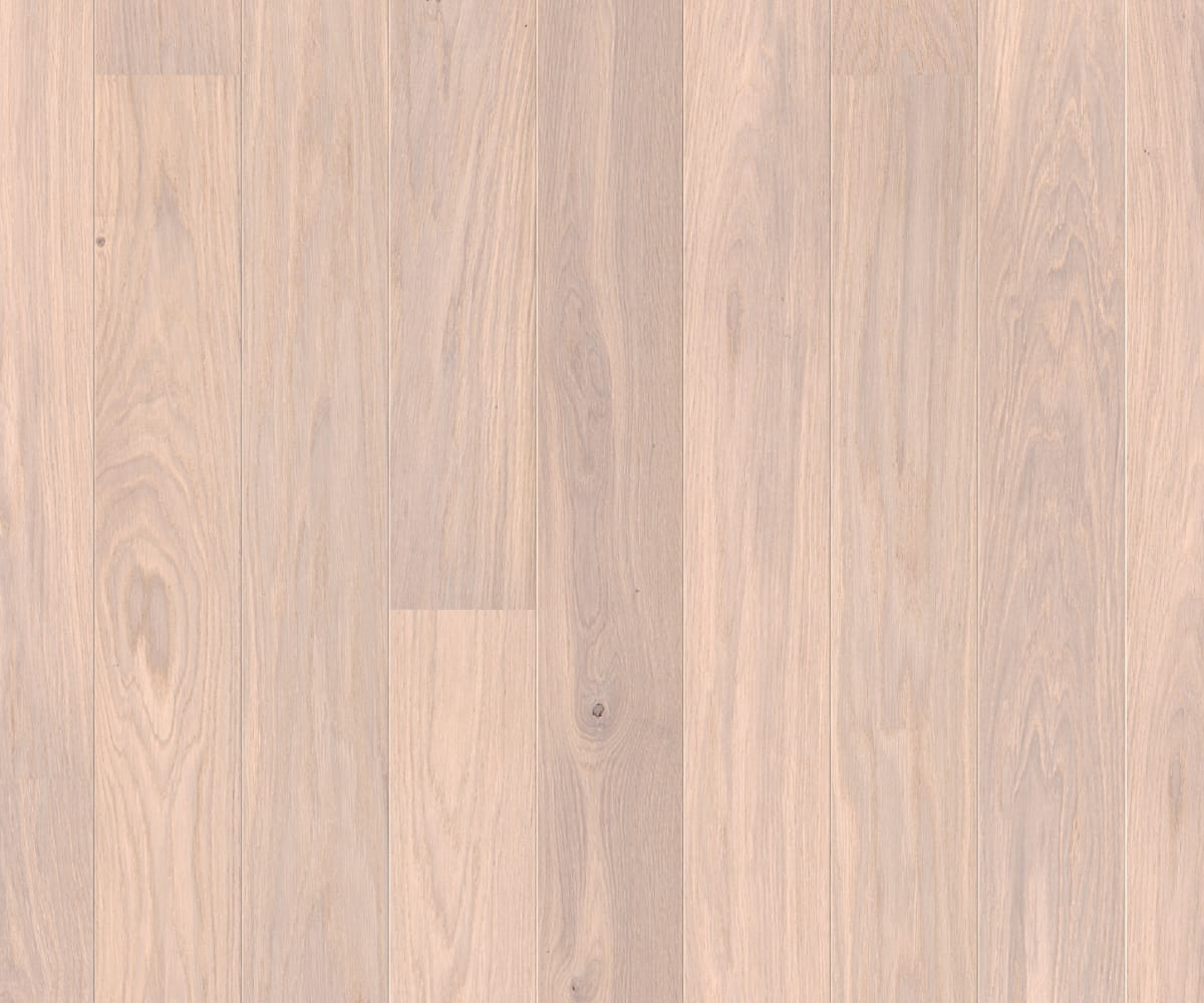 Mist White Pigmented Stain Oak Natural Oil Engineered Wood Flooring