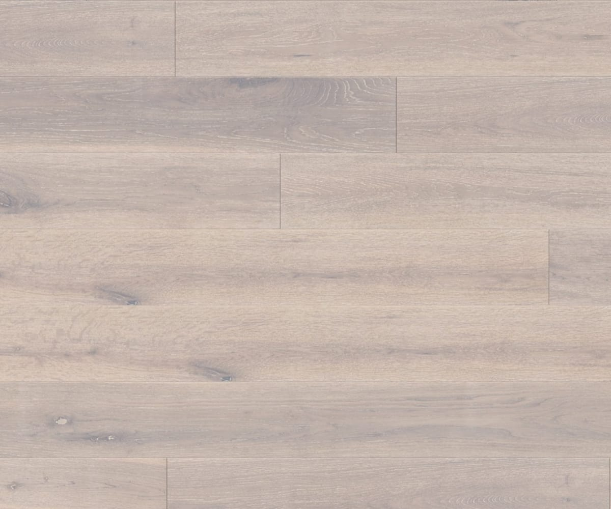 Chamonix Oak Pure White Brushed Lacquered Engineered Hardwood Flooring