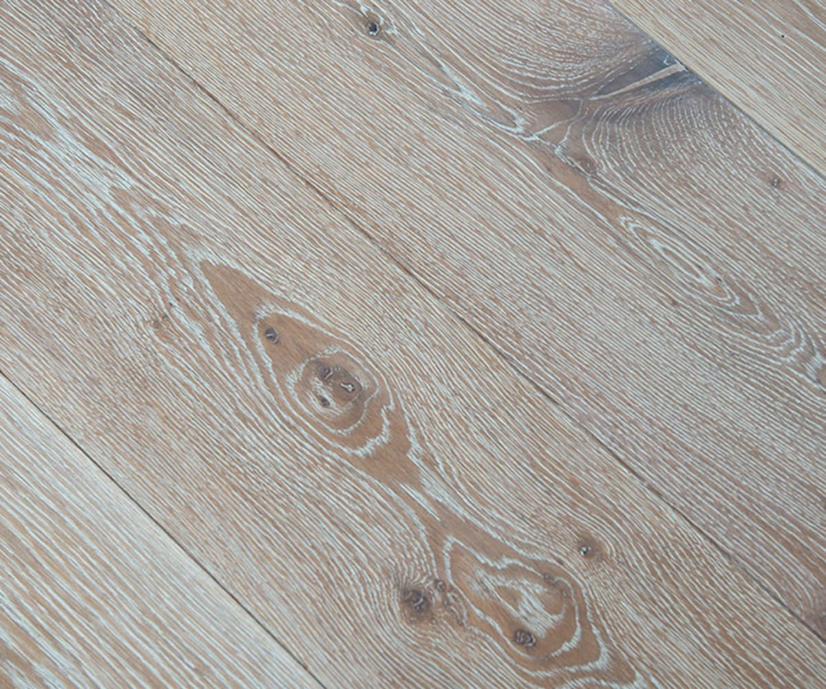 Nordic Oak Brushed Hard wax Oiled Oak Engineered Hardwood Flooring