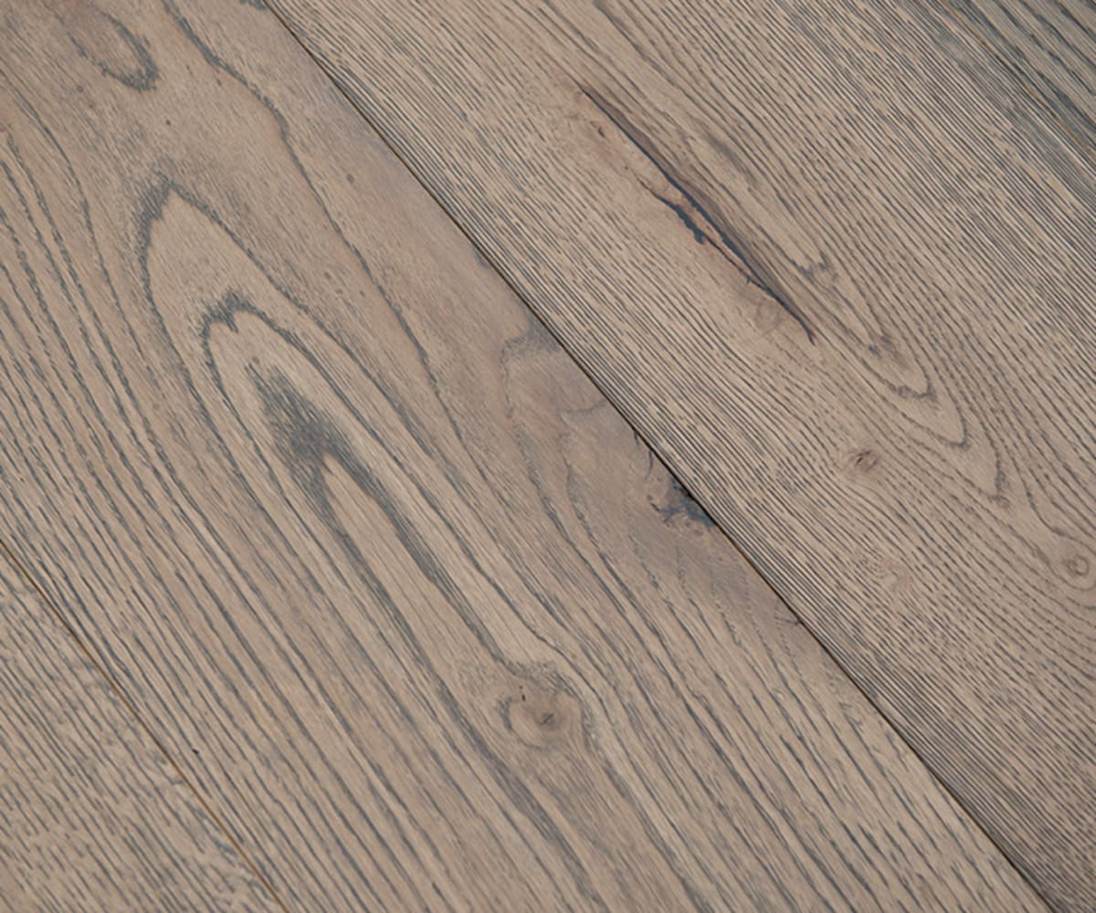 Frozen Umber Brushed Hard wax Oiled Oak Engineered Hardwood Flooring