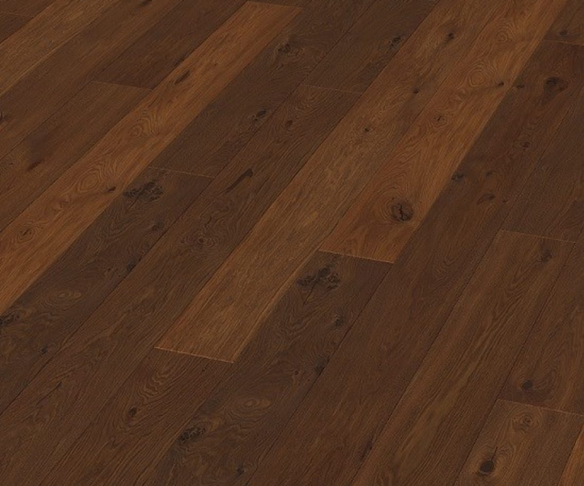 Ealing Oak Brushed & Natural Oiled Wide Board Engineered Hardwood Flooring