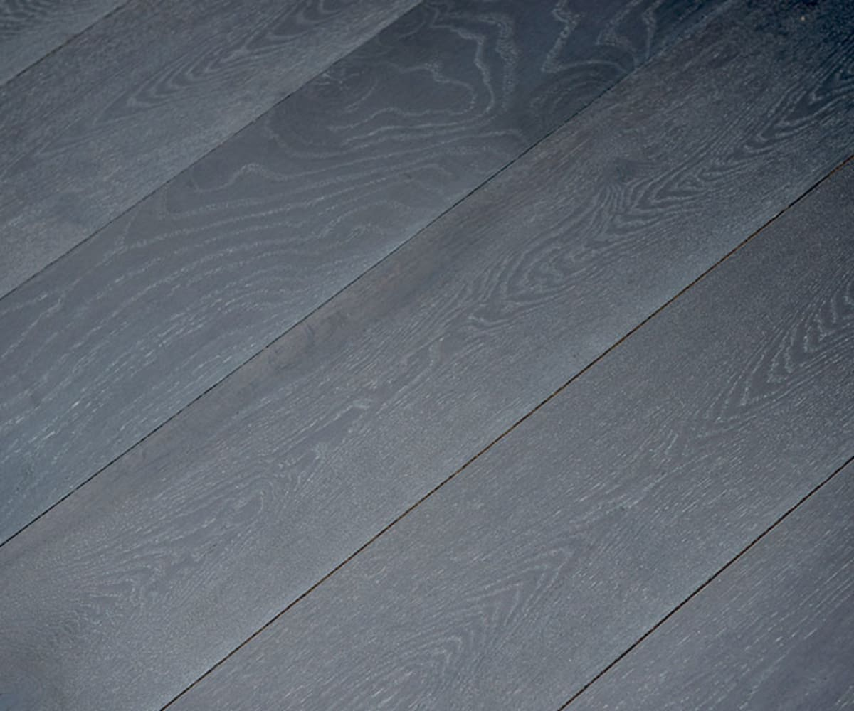 Midnight Mist Brushed Hardwax Oiled Oak Engineered Harwood Flooring