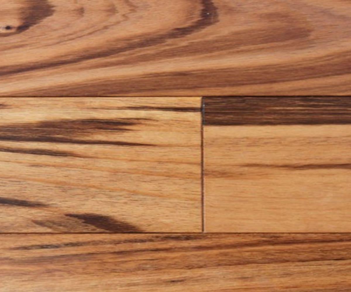 Tigerwood Engineered Hardwood Flooring (Zebrawood)