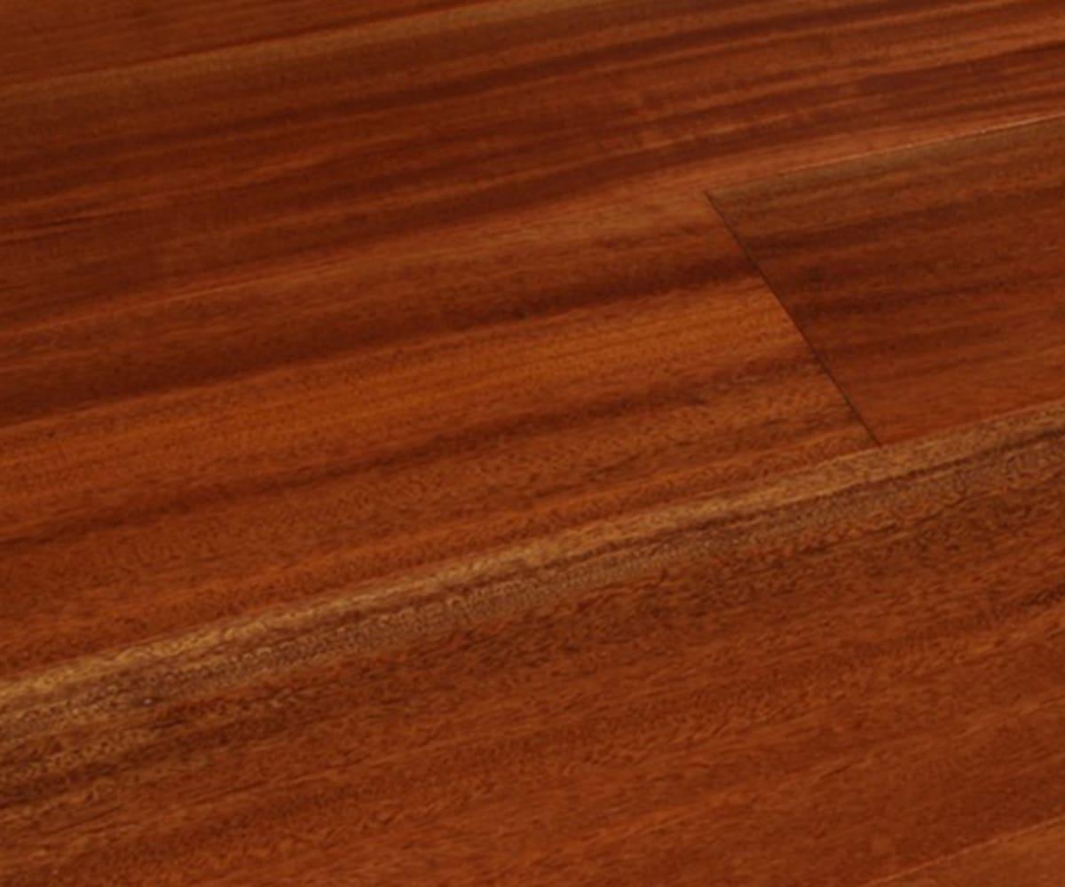 Mahogony Gloss Sapele Hardwood Engineered Exotic Wood Flooring
