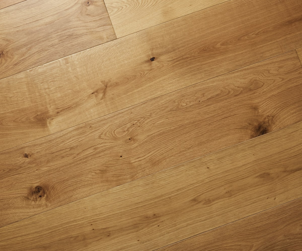 French Barn European Natural Oak Heavy Duty UV Oiled 240mm Engineered