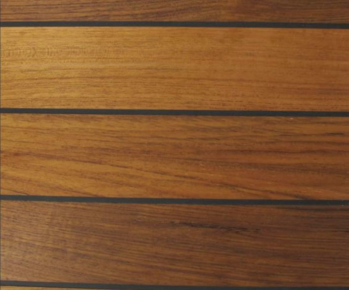 Teak Navylam+ Parquet 88mm Wide Bathroom Wood Flooring