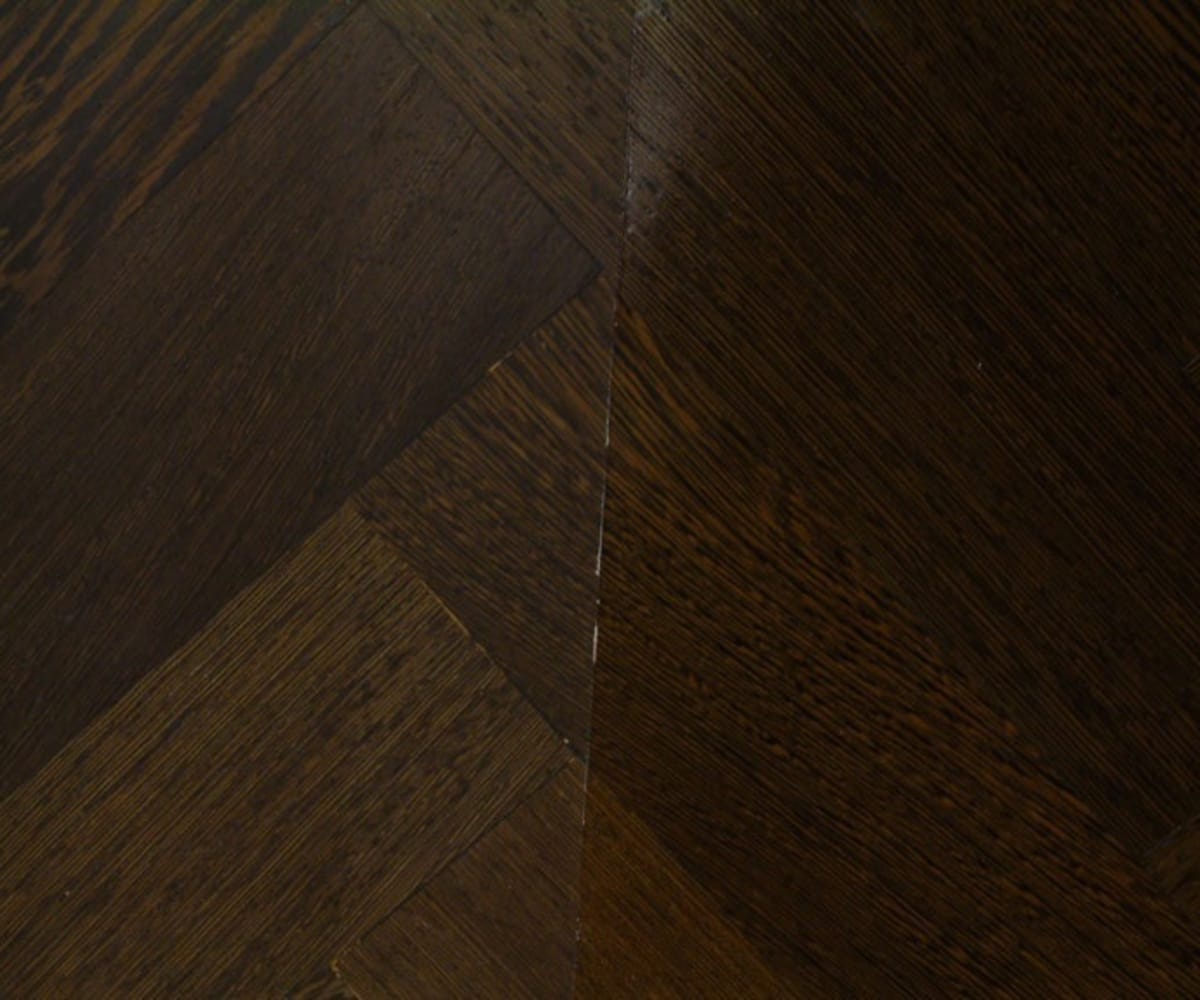 Wenge Prime 280mm Engineered Parquet Block - Herringbone
