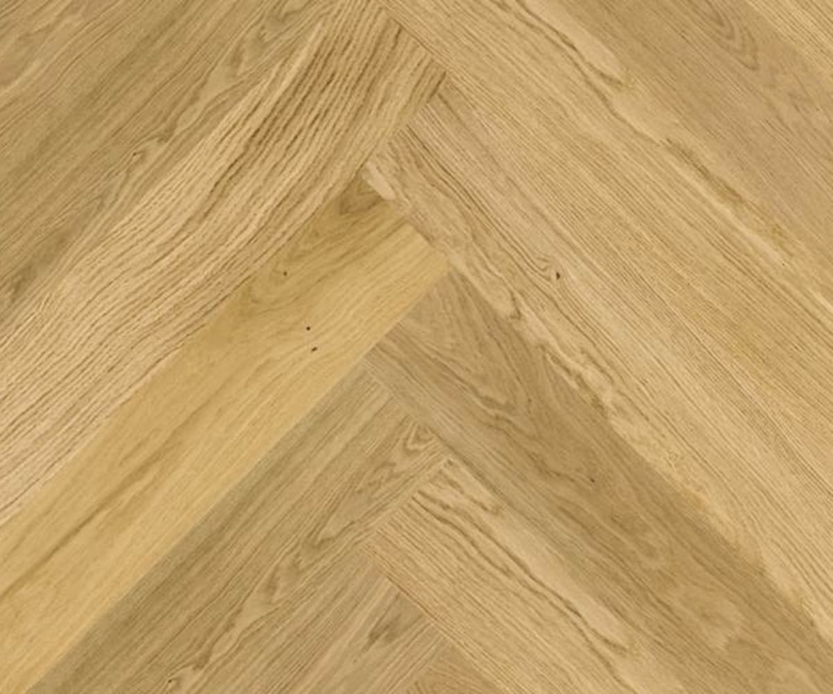 Natural Oak Herringbone Prime Engineered Parquet Click Block