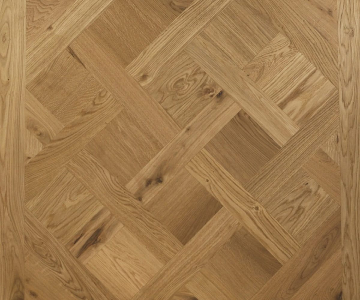 Versailles Mosaic Design Oak Panel Parquet Flooring
