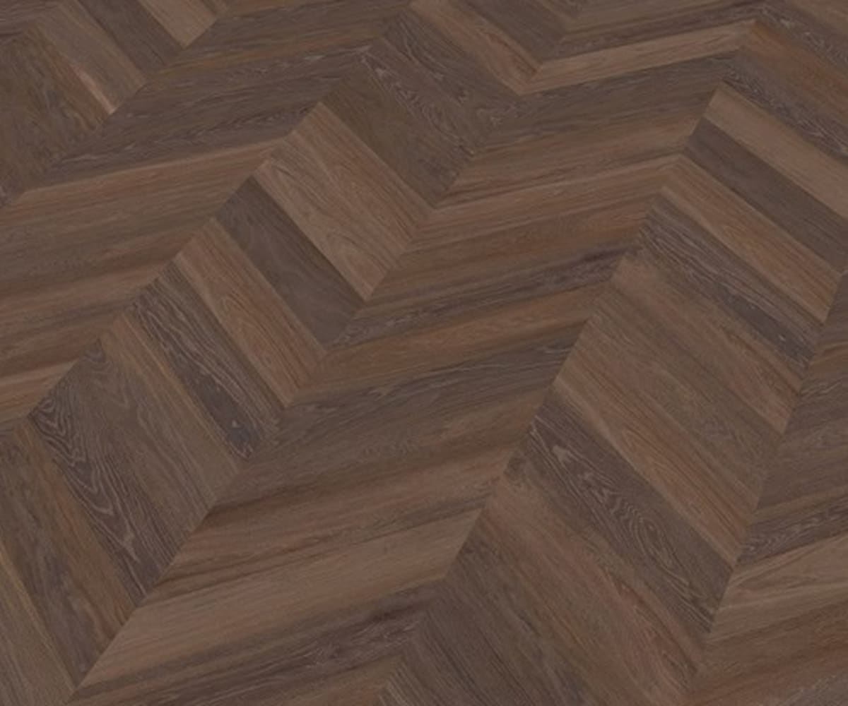 Carlsten Oak Brushed & Natural Oil Chevron Parquet Flooring
