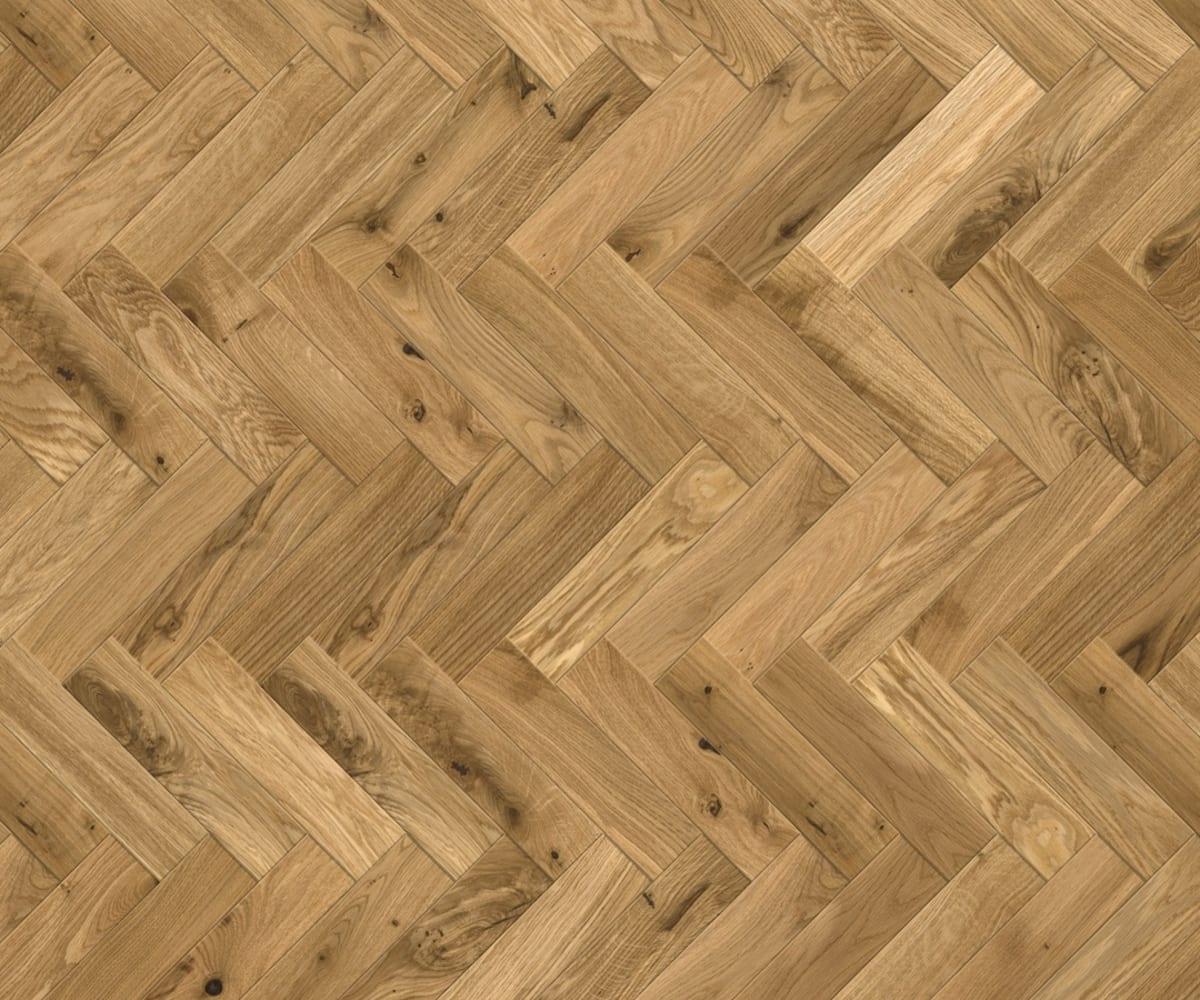 Oak Bodiam Herringbone Parquet Block