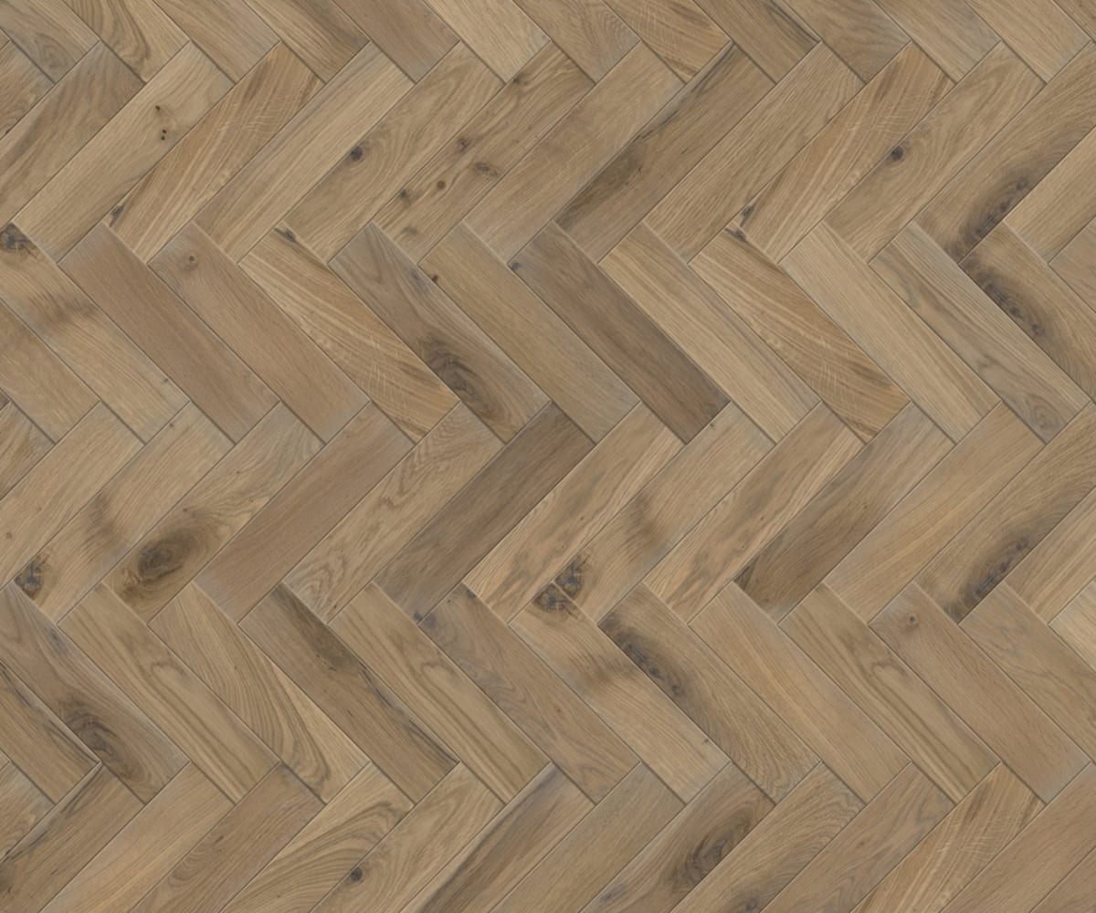 Oak Richmond Herringbone Parquet Block