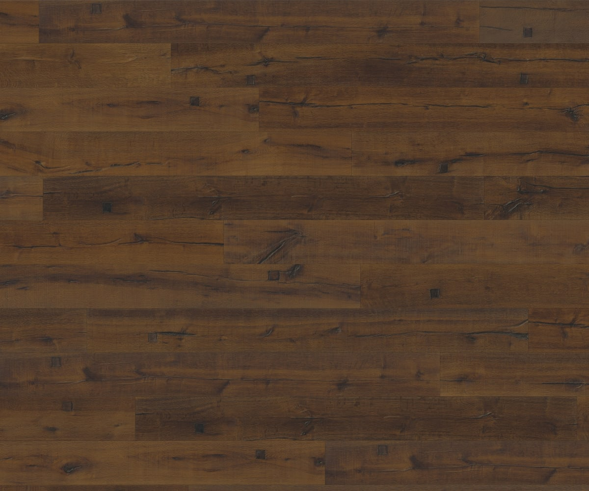 Amsberg Cabin Dark Smoked Oak Brushed Oil Hand scraped Hardwood Engineered Wood Flooring