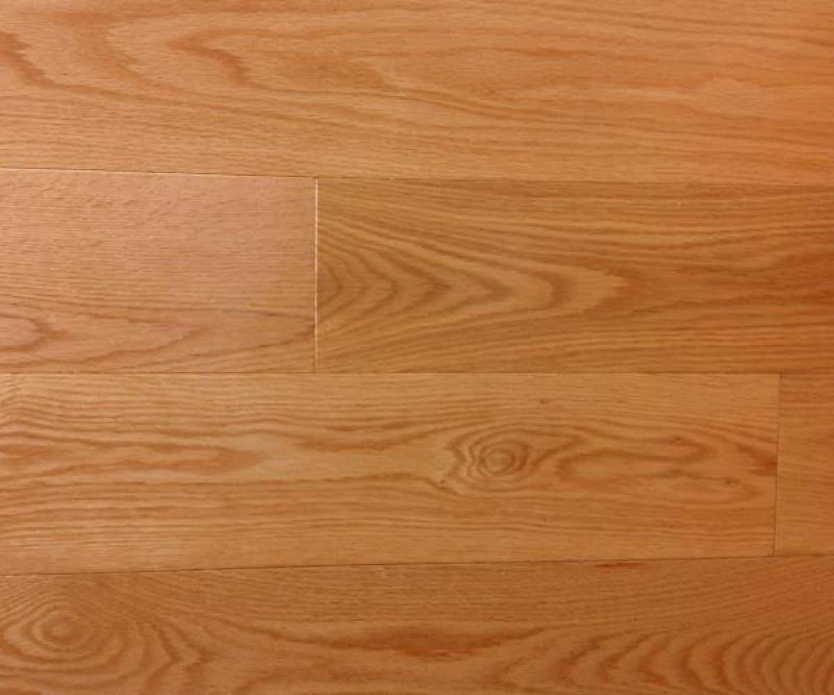 Canadian Red Oak Gloss Solid Hardwood Flooring