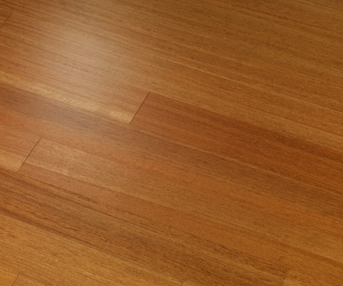 Doussie (Afzelia) Lacquered Engineered Hardwood Flooring