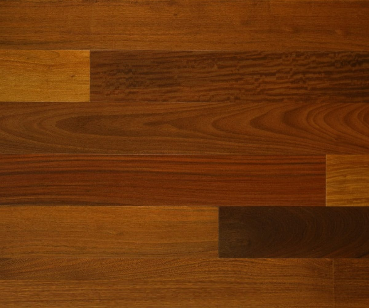 Ipe Lacquered Solid Hardwood Flooring
