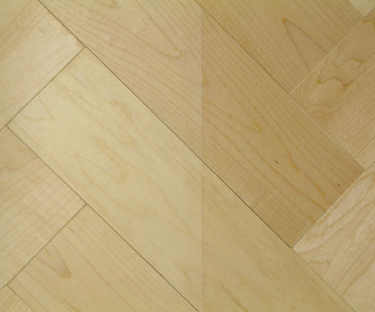 Prime Maple 230mm Parquet Block - Herringbone