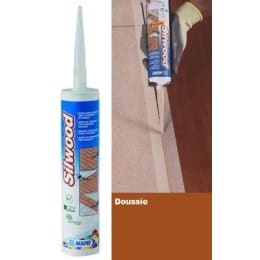 Mapei Silwood Cartridge Doussie Wood Flooring Sealant - 310ml