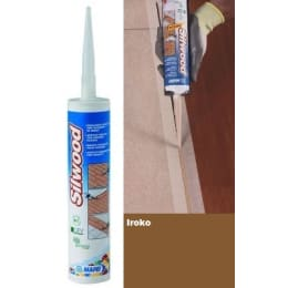 Mapei Silwood Cartridge Iroko Wood Flooring Sealant - 310ml