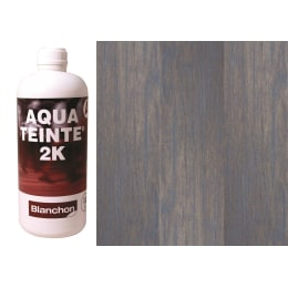 Blanchon Aquateinte 2K SOFT GREY Wood Flooring Stain 1L