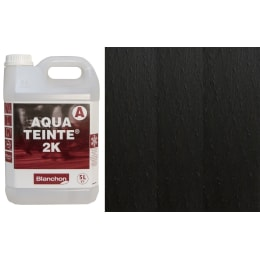 Blanchon Aquateinte 2K BLACK Wood Flooring Stain 5L