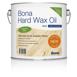 Bona (Carls) Hard Wax Wood Flooring Oil SATIN (Two Coat System) 10.0L