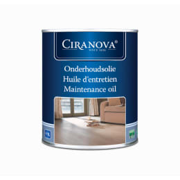 Ciranova Black Wood Flooring Maintenance Oil 1L