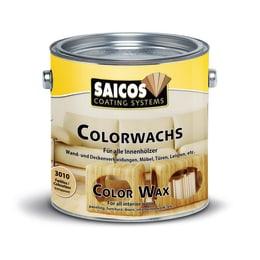 Saicos Colour Wax Classic  Ebony Wood Flooring Stain 2.5L