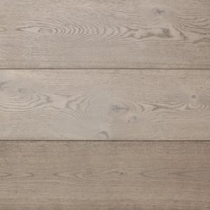 Elephant Grey Hardwax Oiled Oak Wide Board Engineered Hardwood Flooring