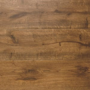 African Walnut Oak Hardwax Oiled Wide Board Engineered Hardwood Flooring