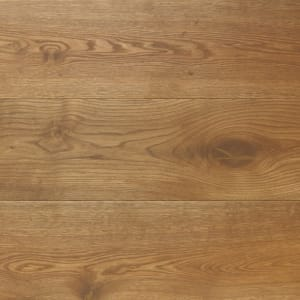 Smoked Oak Hardwax Oiled Wide Board Engineered Wood Flooring